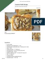 Pecan Caramel Cinnamon Rolls Recipe