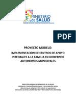 Proyecto Modelo Caifc_Salud Mental