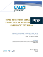 Instructivo Tutores Virtuales