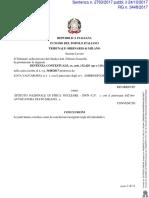 Sentenza Tribunale Di Milano 2763 Del 24 Ottobre 2017 Reiterazione Contratti a Termine Infn