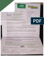 Img-20190327-Wa0019 Rechtsunwirksames Schreiben Der Aok Oberhausen Plus Meine Antwort Am 29. Lentzimanoth 2019