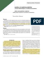 La Genetica y La Medicina Predictiva