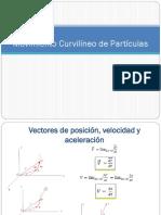 1.2 Movimiento Curvilíneo de Partículas