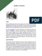 Biografia de Dionisio Aguado y García