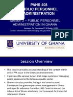 Session 2 PPA in Ghana