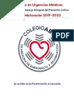 Diplomado de Urgencias Medicas Morelia, Michoacan 2018-2019
