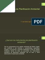 Instrumentos de Planificación Ambiental