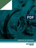 Catálogo de aplicação de turbo-compressores Biagio - Linha Diesel