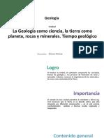 La Geología Como Ciencia