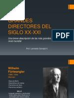 Grandes Directores Orquestales S. XX-XXI