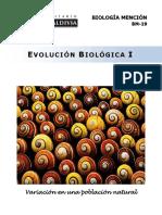 BM-19-14 Evolución Biológica I