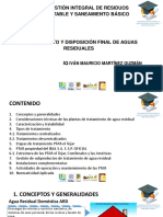 Tratamiento y Disposición Final de Aguas Residuales_II Importante