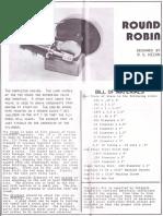 Round Robin Steam Engine - Caldwell Industries 1977
