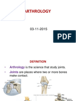 Inroduction of Arthrology -ruan-2015.ppt