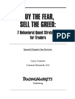 Buy the Fear Sell the Greed Chapter-1