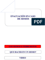 Evacuacion en Caso de Sismos.ppt