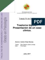 Felipe Naranjo Andrs TFG Psicologa