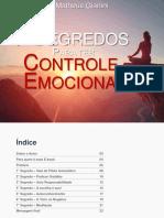 7 Segredos Para Ter Controle Emocional