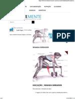 Remada Serrador _ Exercício Para Dorsal