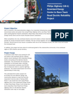 High voltage fact sheet provided by JEA