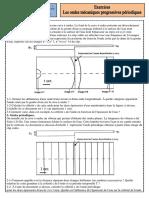Exercices 6 Ondes Mécaniques Progressives Periodiques - Copie