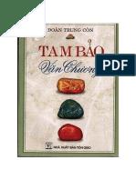 Tam Bảo Văn Chương - Đoàn Trung Côn