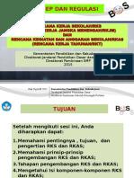 RKS dan RKAS regulasi smk