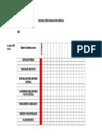 Lista de Cotejo Evaluación Mensual