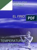Trabajo Temperaturas Extremas - Frio