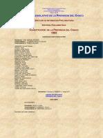 Constitucion Provincial Pcia de Chaco