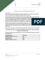 Cwdp 303 Objectives 2018