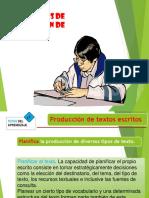 Estrategias de Producción de Textos en comunicacion