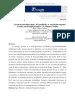 Caracterización Mineralogica Del Pozo H43