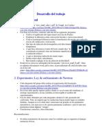 Desarrollo Del Trabajo Fluidos y Termodinamica