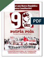 90 Aniversario del Partido Comunista del Perú