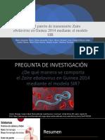 Modelo SIR Ebola