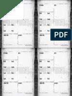a4 Character Sheet
