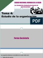 Estudio de La Organización