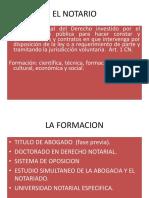 El Notario y Regimen Disiplinario Tema 3