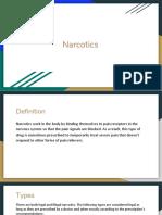 meth and narcotics