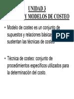 Modelos de Costeo