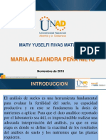 Analisis de Suelo Mary Yuselfi Rivas