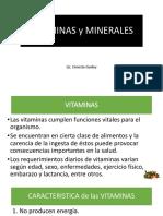 Nutricion Clase Vitaminas Minerales y Antioxidantes