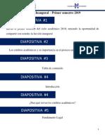 Información de Créditos Universitarios