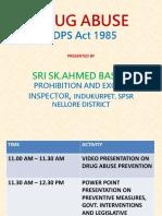 Sk.ahmed Basha - Ndps Act 1985