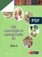 Guía metodológica de Educación Inicial EIB. Ciclo II.pdf
