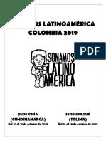 Bases III Sonamos Latinoamerica Chia