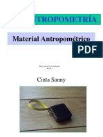 Materiales y Puntos Anatomicos