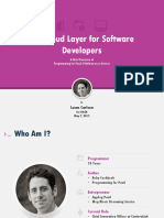 The Cloud Layer for Software Developers