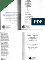 Girbal Blacha Estado Sociedad y Economia en La Argentina 1930 1997
